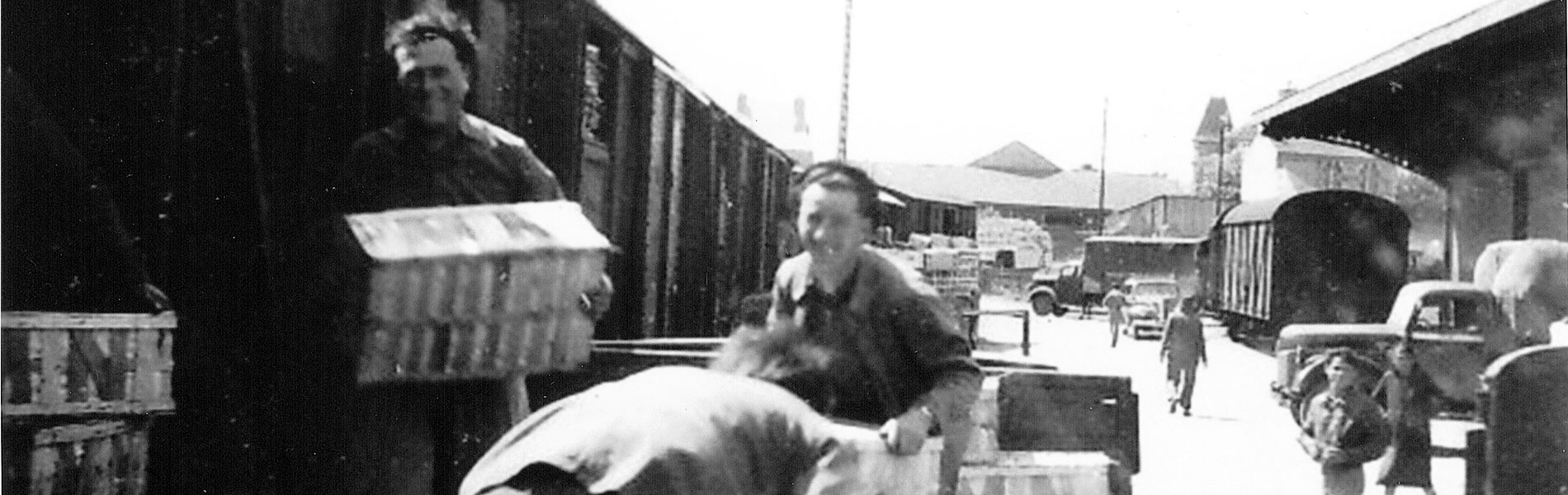 Gare de Pont Rousseau 1949